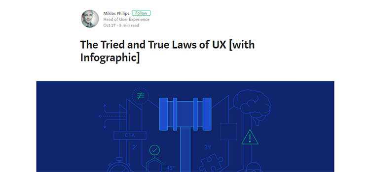 The Tried and True Laws of UX
