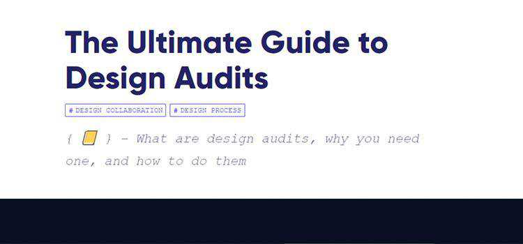 The Ultimate Guide to Design Audits
