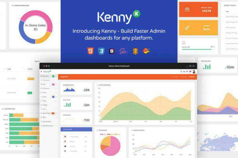 Kenny Admin Bootstrap