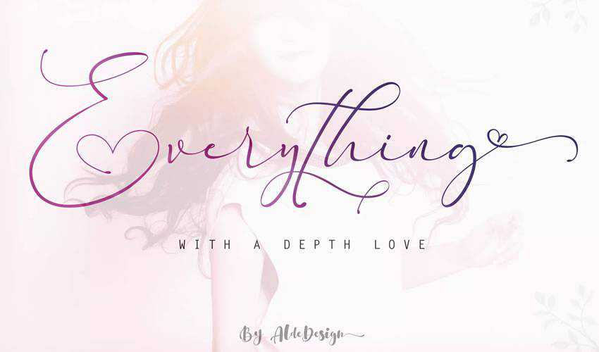 free font calligraphy typography script Everything