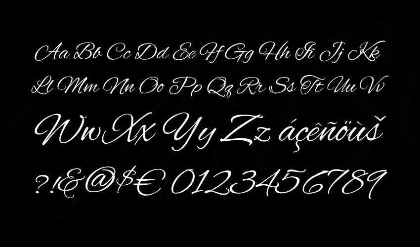 free font calligraphy typography script Alex Brush