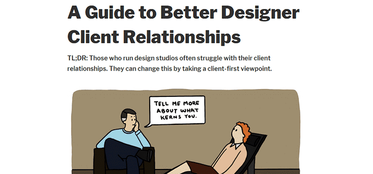 A Guide to Better Designer Client Relationships