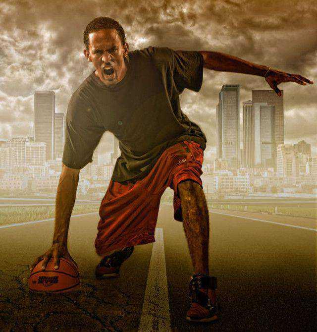 Studio Sports Portrait tutorial in Photoshop