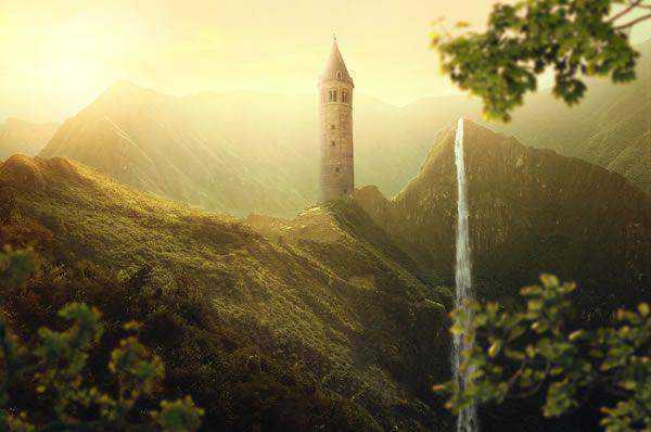 Beautiful nature sunrise Landscape Photo Manipulation tutorials