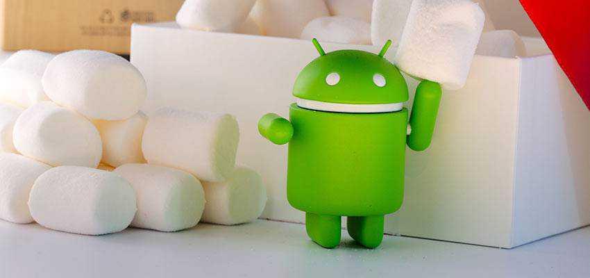 Android OS mascot.
