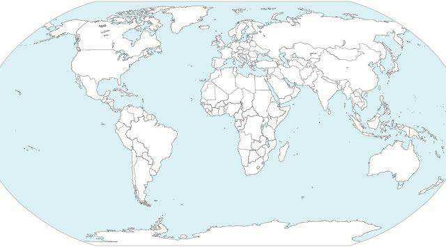 25 High Quality Free World Map Templates