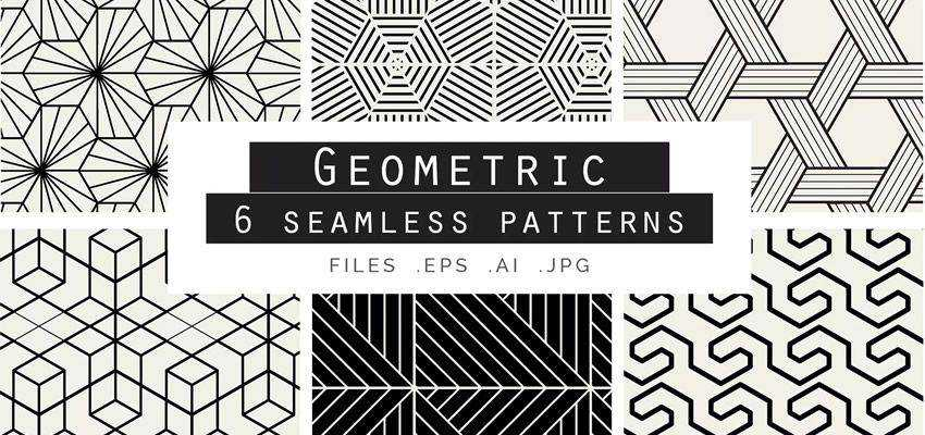 Geometric Seamless Vector Patterns adobe illustrator tutorial