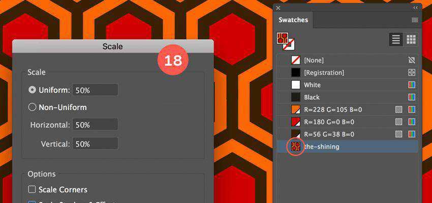 How to Create a Hexagon Pattern adobe illustrator tutorial
