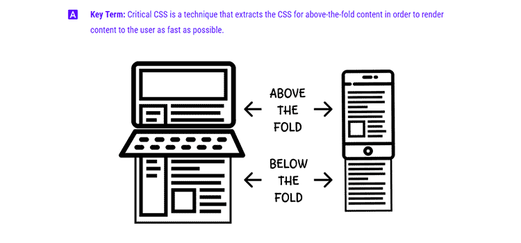 Extract critical CSS