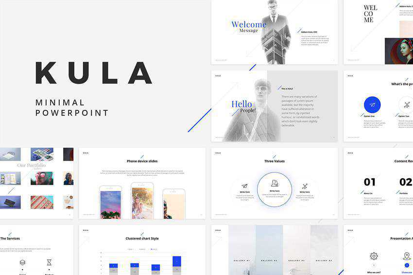Free Kula Powerpoint Template