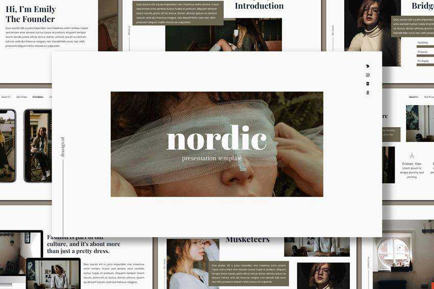Free Nordic Powerpoint Presentation Template