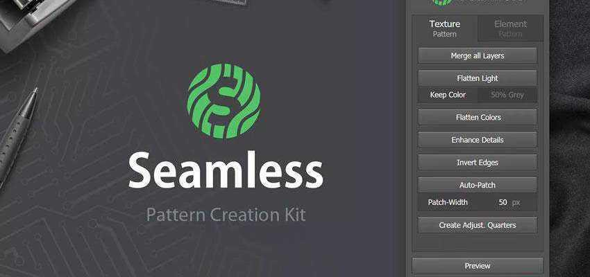 Seamless Pattern Creation Kit Plugin Extension