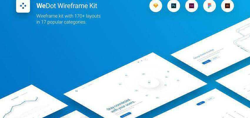 WeDot Wireframe UI Kit Plugin Extension