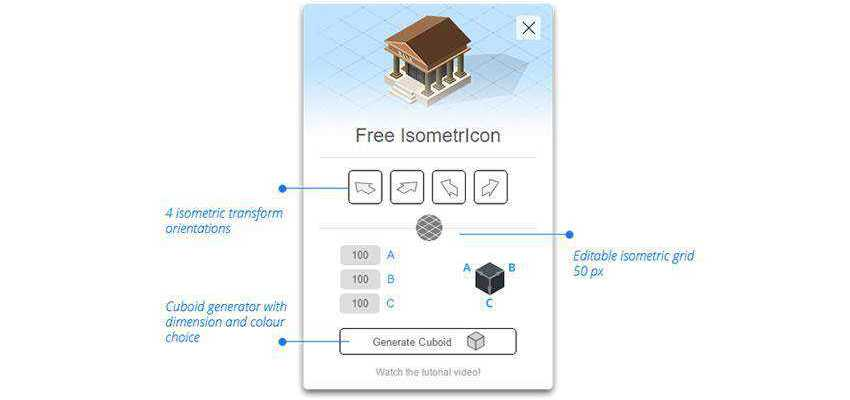 IsometrIcon Generator Plugin Extension