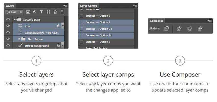 Composer for Photoshop Plugin Extension