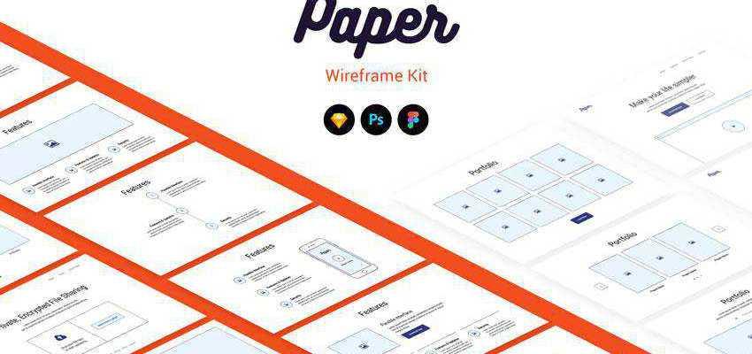 Paper Wireframe Kit Plugin Extension