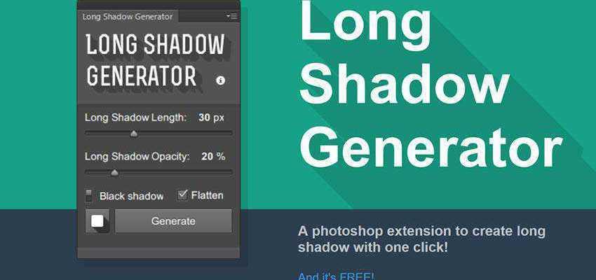 Long Shadow Generator Plugin Extension