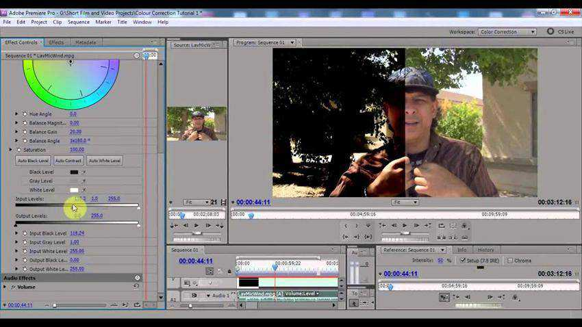 How to Improve Contrast with Color Correction