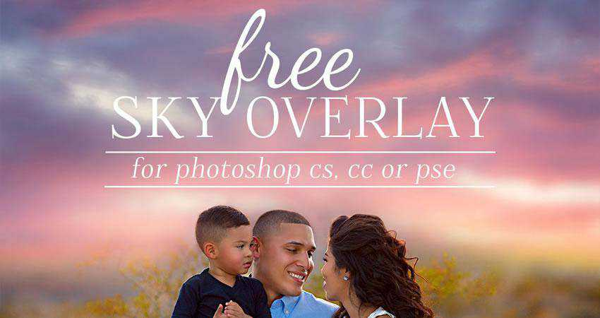 Sunset Sky Overlays Photography Effects