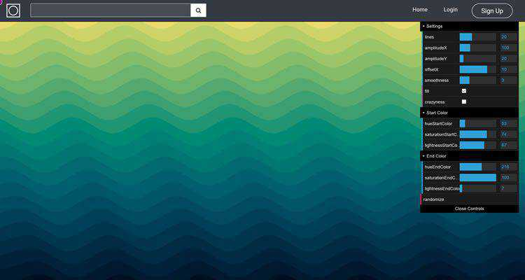SVG Gradient Wave Generator