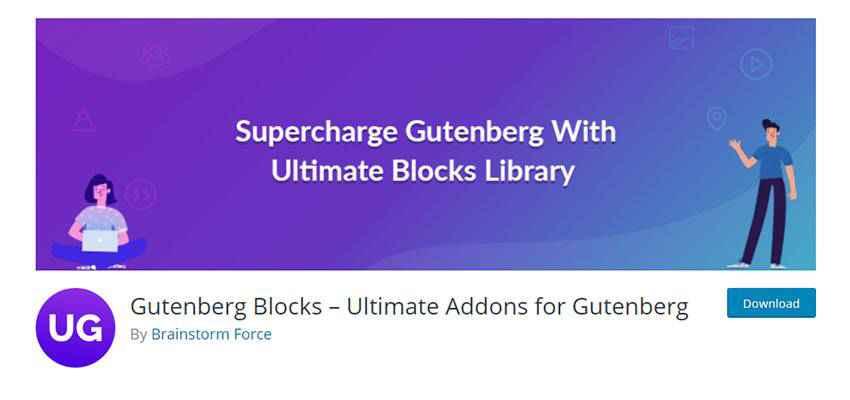 Banner for Gutenberg Blocks – Ultimate Addons for Gutenberg