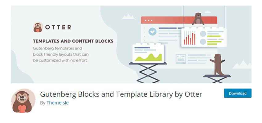 Banner for Gutenberg Blocks and Template Library by Otter
