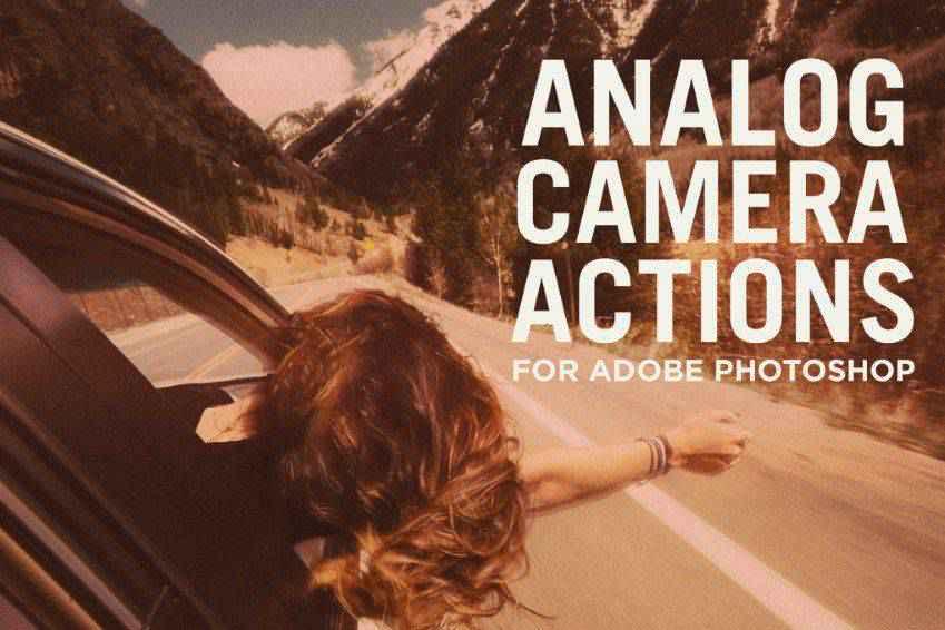 Analog Camera Photoshop Actions