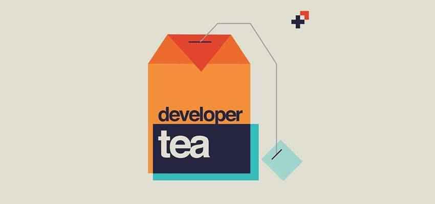 Developer Tea web design podcast
