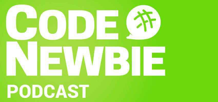 Code Newbie Podcast web design podcast