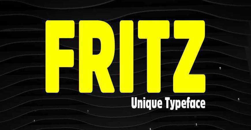 Fritz Rounded Display logo font typeface logotype