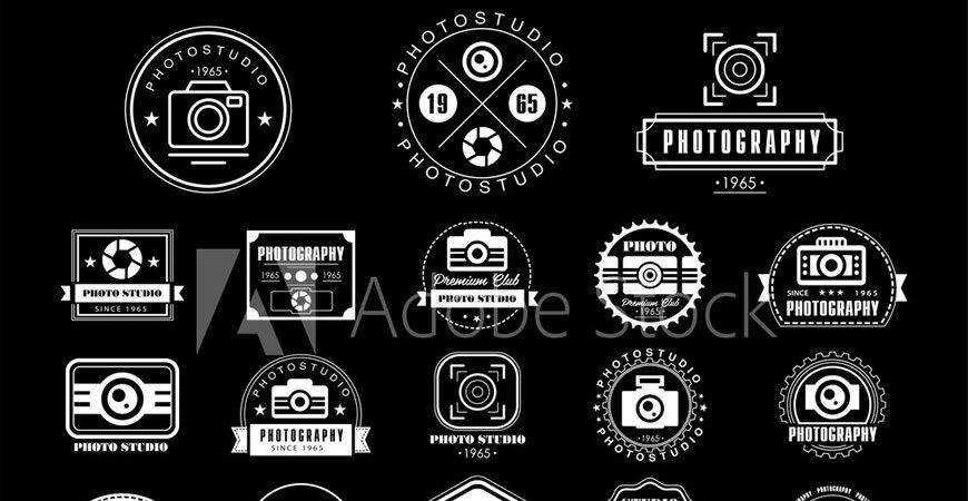 Logo Templates photographer camera photography