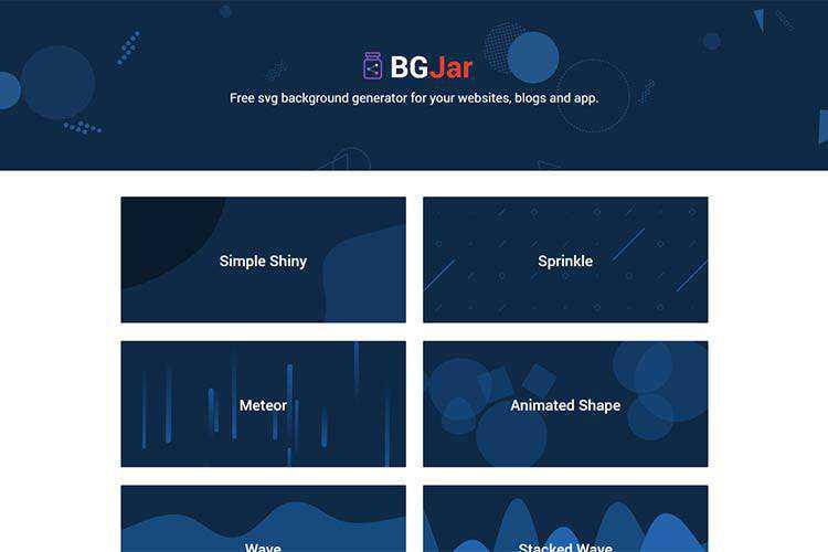 Example from BGJar