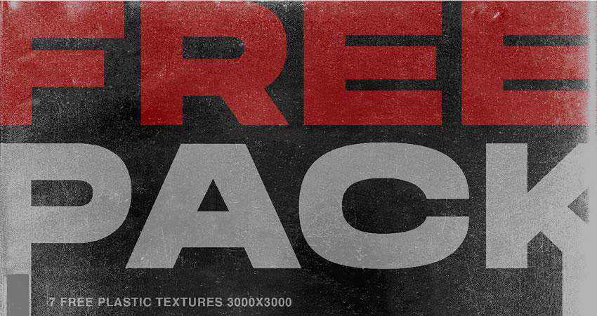 Plastic free high-res textures