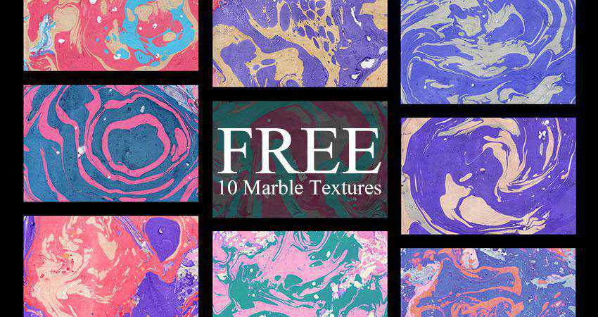 Marble Paper free high-res textures