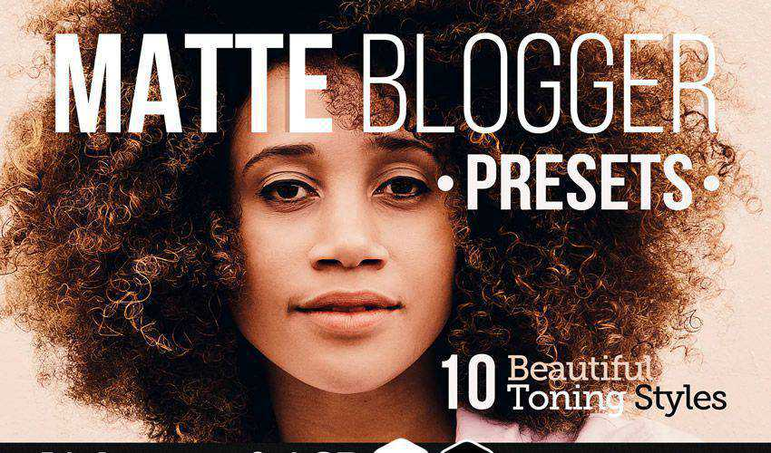Matte Blogger Presets for Lightroom ACR
