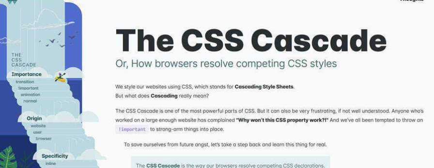 Example from The CSS Cascade