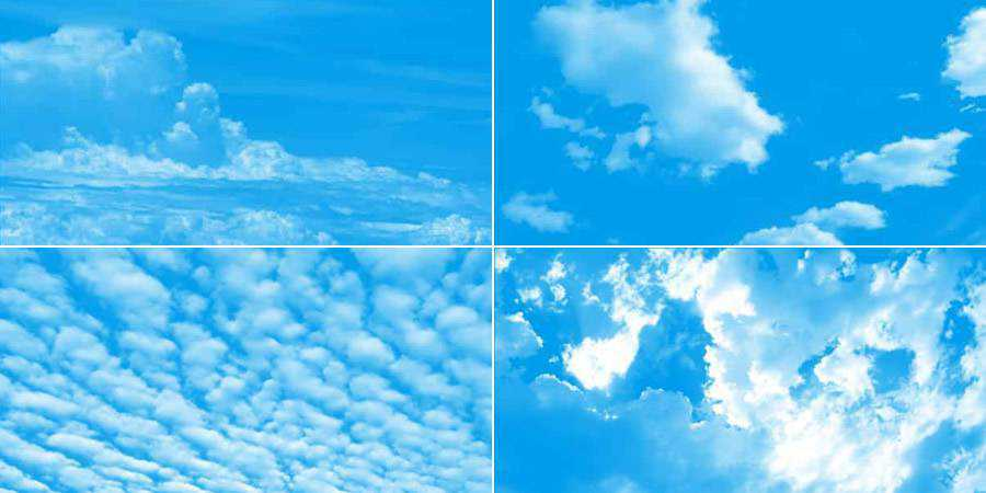 High Resolution Cloud Photoshop Brushes ABR