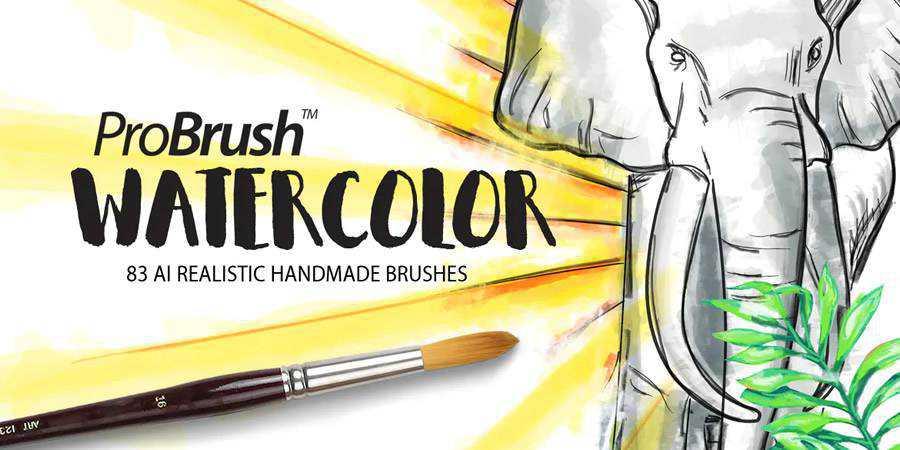 Watercolor ProBrush ABR