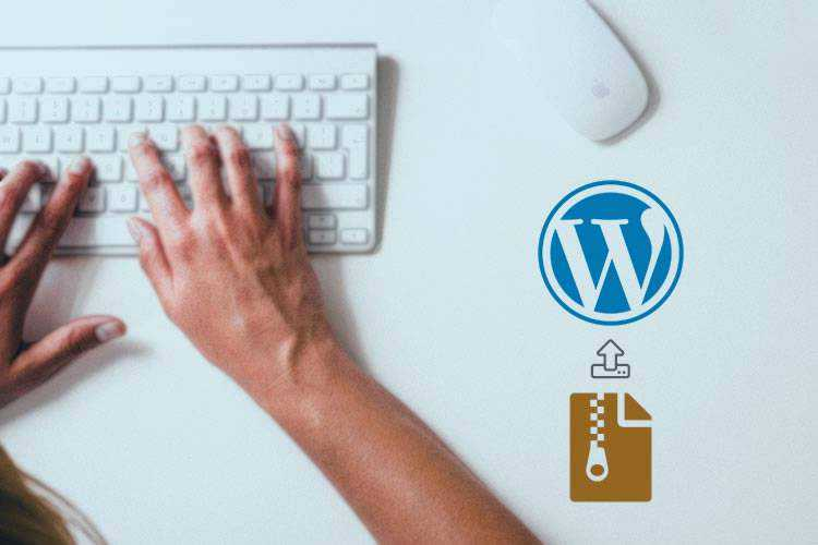 Example of How to Update WordPress Themes and Plugins with a ZIP File