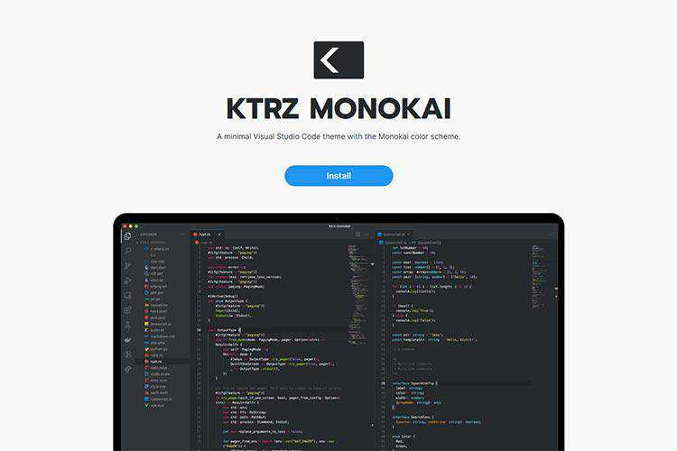 Example from KTRZ Monokai
