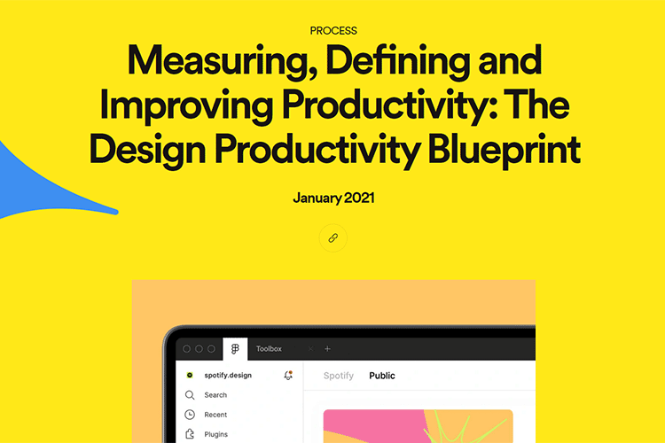 Example from Measuring, Defining and Improving Productivity: The Design Productivity Blueprint