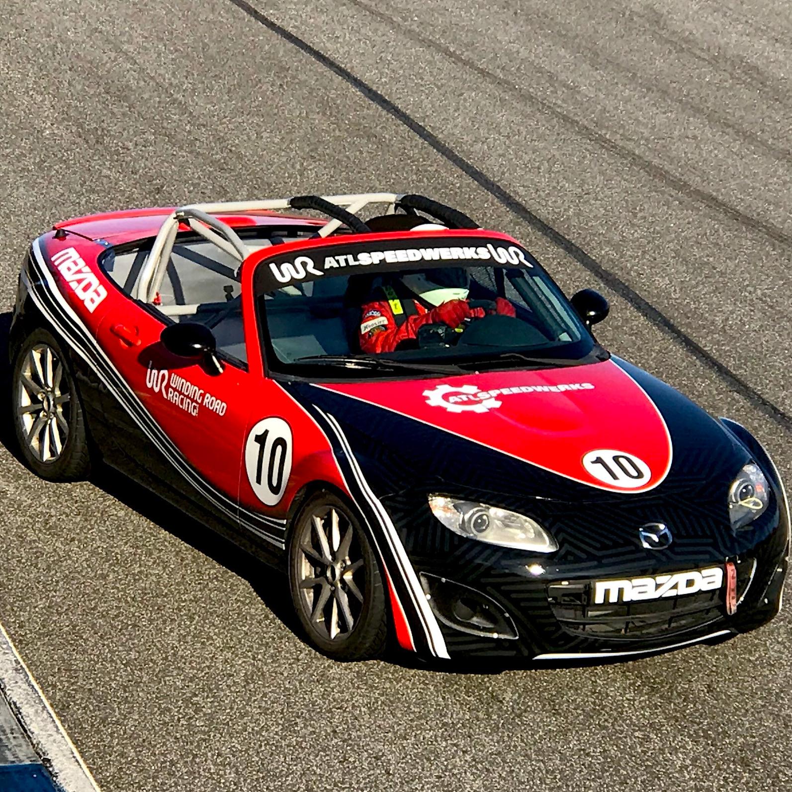 Spec MX-5 Race Cars