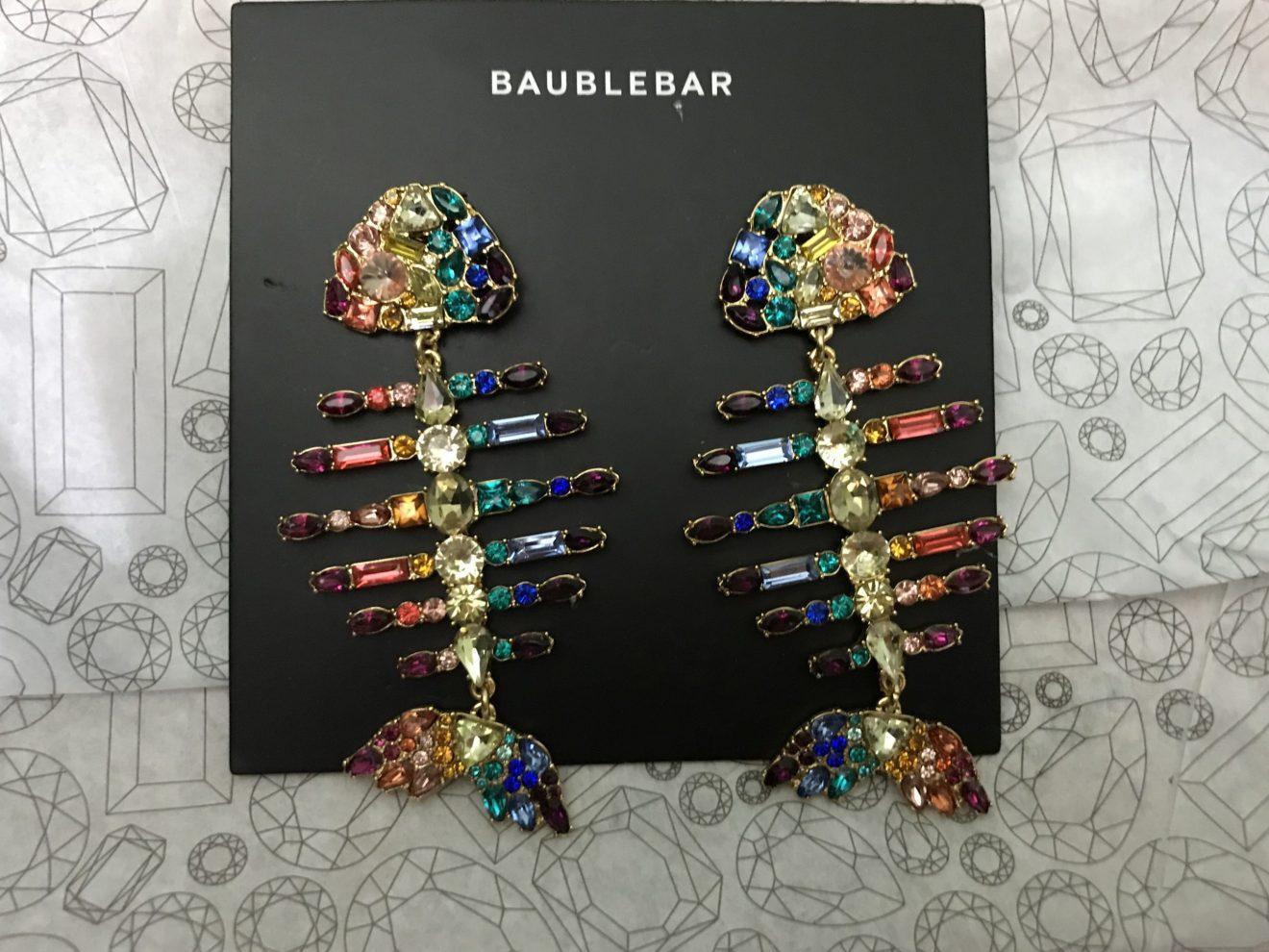 baublebar rainbow fish earrings