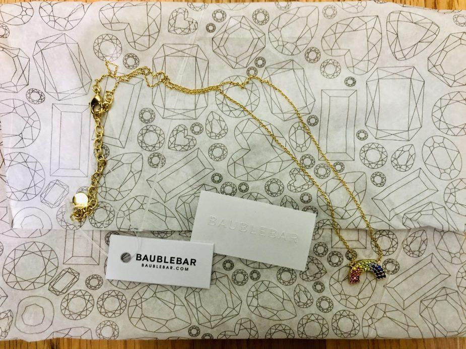 baublebar rainbow necklace