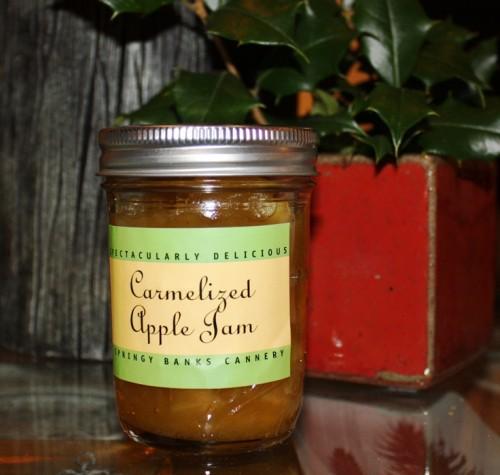 Caramel Jam in Jar