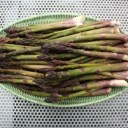 THRIFTY ASPARAGUS PICKLES: TARRAGON ASPARAGUS PICKLES AND SPICY ASPARAGUS SPEARS