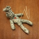 VOODOO DOLL TOOTHPICK HOLDER