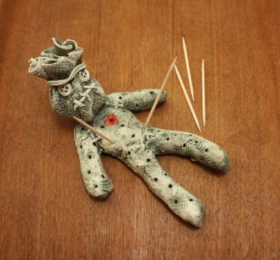 Voodoo toothpick man