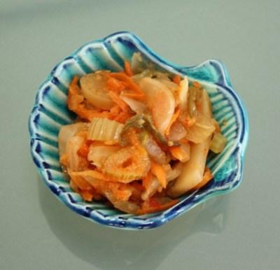 Fennel Kimchi 1
