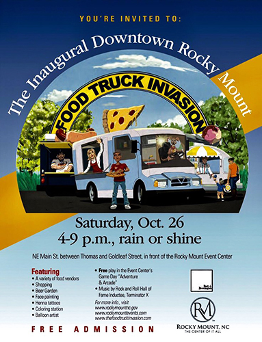 Inaugural Downtown Rocky Mount Food Truck Invasion Spectacular Magazine